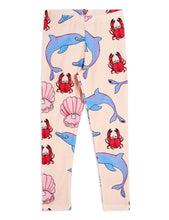 Load image into Gallery viewer, Mini Rodini Dolphin Leggings Tencel // Multi Coloured by Mini Rodini - Mini Pop Style
