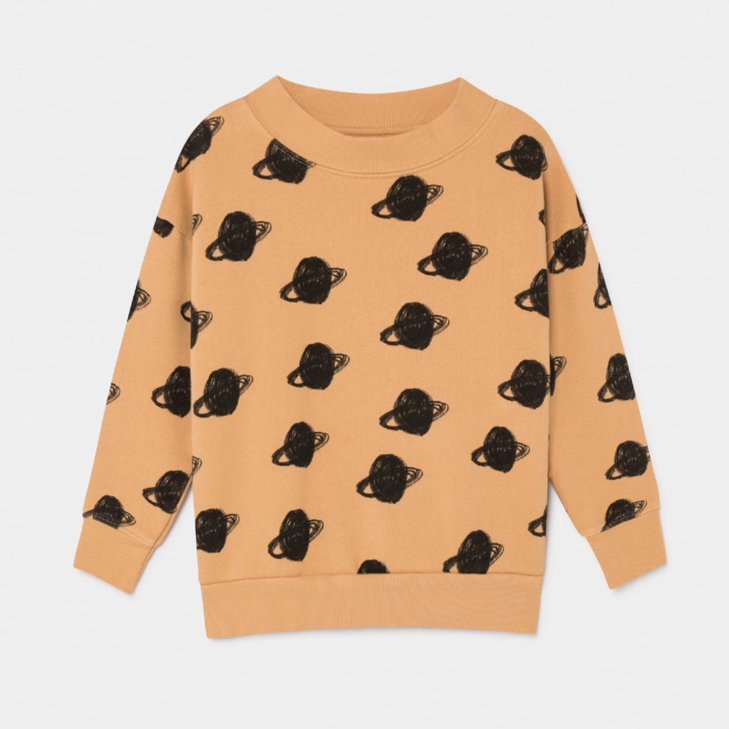 BOBO CHOSES All Over Big Saturn Sweatshirt by BOBO CHOSES - Mini Pop Style