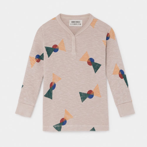 BOBO CHOSES All Over Flags Buttons T-Shirt by BOBO CHOSES - Mini Pop Style