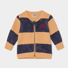 Load image into Gallery viewer, BOBO CHOSES Striped Saturn Zipped Sweatshirt by BOBO CHOSES - Mini Pop Style