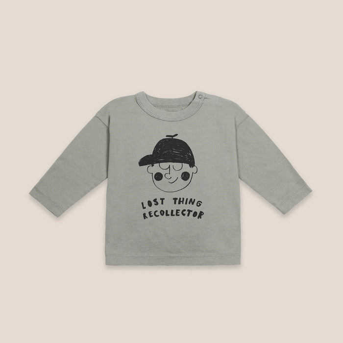BOBO CHOSES Boy Long Sleeve T-Shirt // Desert Sagei