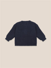 Load image into Gallery viewer, BOBO CHOSES Cats Cardigan // Twilight Blue