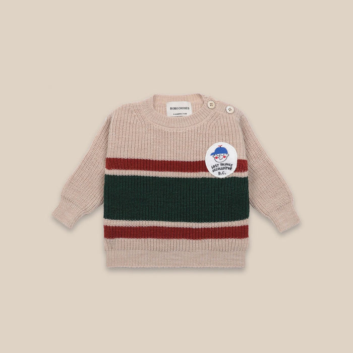 BOBO CHOSES Boy Patch Jumper by BOBO CHOSES - Mini Pop Style