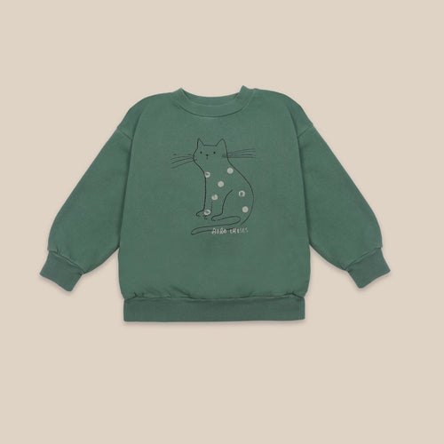 BOBO CHOSES Cat Sweatshirt