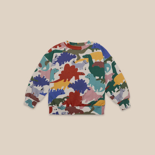 BOBO CHOSES Dinos All Over Sweatshirt
