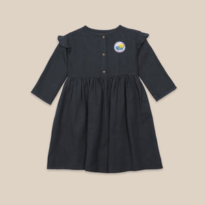 BOBO CHOSES Lucky Star Woven Dress // Midnight Navy