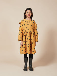 BOBO CHOSES Spray Dots Woven Dress // Sunflower