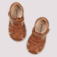 Load image into Gallery viewer, Petit Nord Classic Sandal // Cognac by Petit Nord - Mini Pop Style