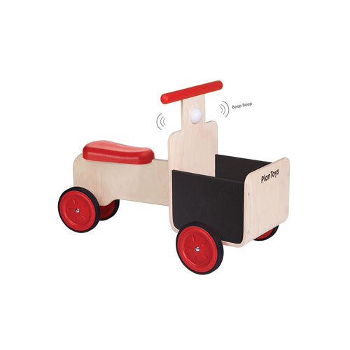 PlanToys Delivery Bike by Plan Toys - Mini Pop Style