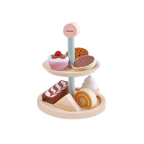 PlanToys Bakery Cake Stand by Plan Toys - Mini Pop Style