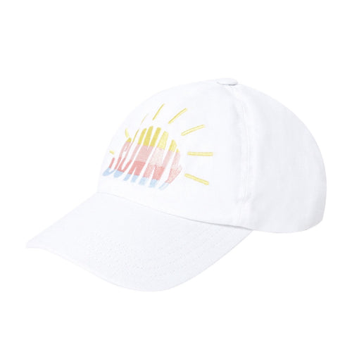 Hundred Pieces Sunny Cap // White by Hundred Pieces - Mini Pop Style