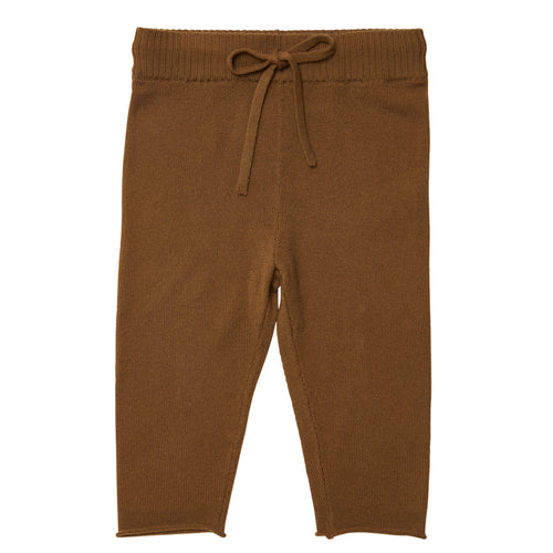 FUB Baby Straight Pants in Wool // Sienna - Mini Pop Style