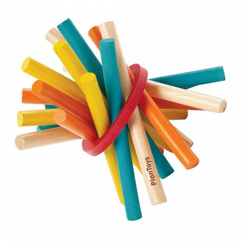 PlanToys Pick-Up Sticks by Plan Toys - Mini Pop Style