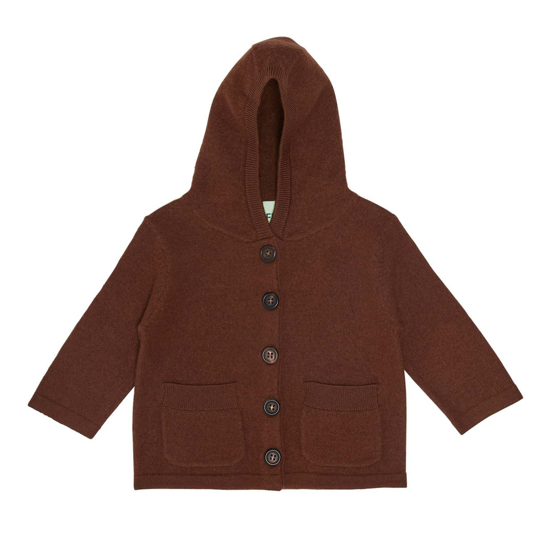 FUB Baby Felted Jacket Wool // Umber