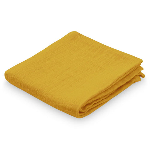 Cam Cam Muslin Cloth 2 Pack // Mustard by Cam Cam - Mini Pop Style