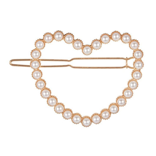 Mimi & Lula Pearly Heart Grip Pearl by Mimi & Lula - Mini Pop Style