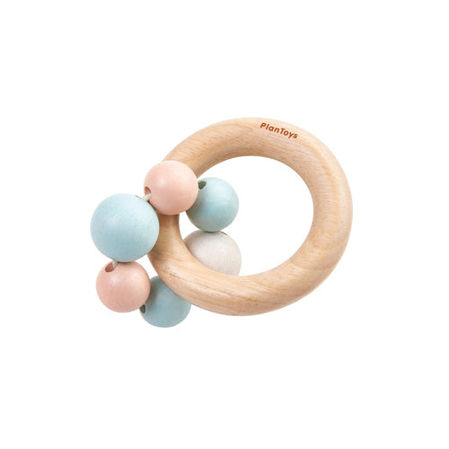 PlanToys Beads Rattle Pastel by Plan Toys - Mini Pop Style