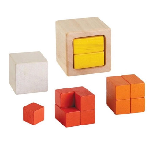 PlanToys Fractin Cubes by Plan Toys - Mini Pop Style