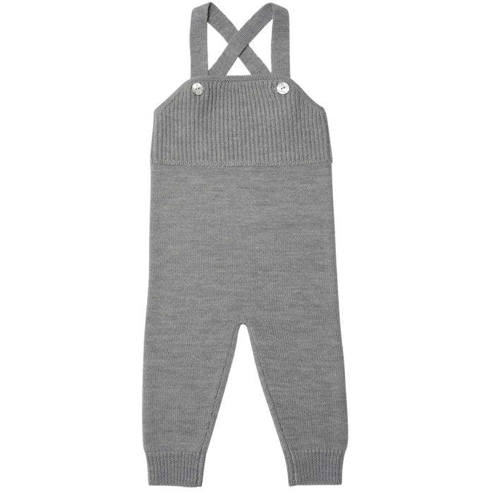FUB Baby Overalls Wool // Light Grey