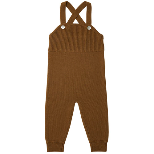 FUB Baby Overalls Wool // Sienna - Mini Pop Style