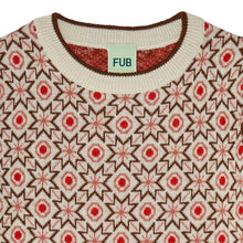 Load image into Gallery viewer, FUB Baby Snow Blouse Wool // Ecru/Umber