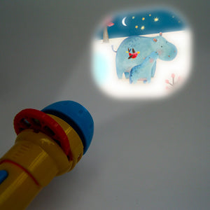 Moulin Roty Flashlight Storybook // Les Papoum by Moulin Roty - Mini Pop Style