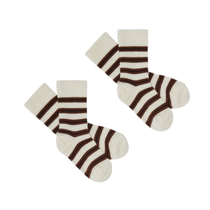 FUB 2-pack Socks Wool // Ecru