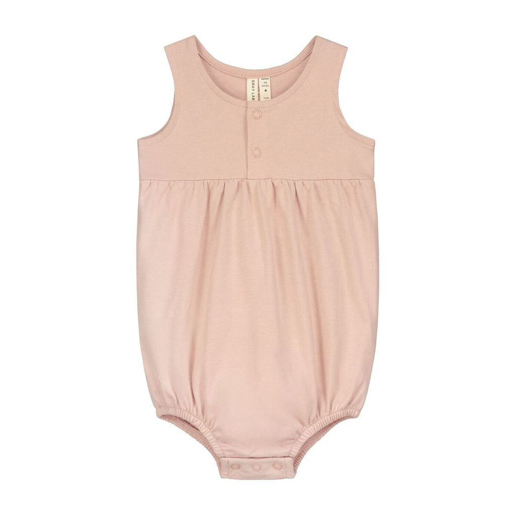 Gray Label Baby Summer Onesie // Vintage Pink by Gray Label - Mini Pop Style