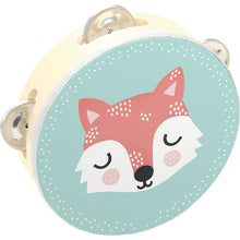 Load image into Gallery viewer, VILAC Fox Wood Tambourine