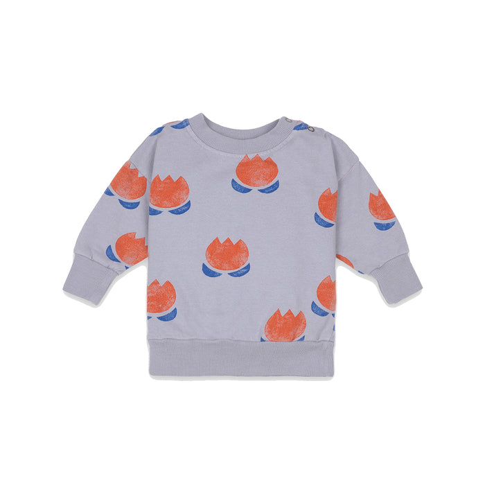 BOBO CHOSES Chocolate Flower Sweatshirt | Mini Pop Style