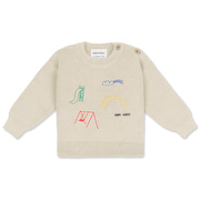 Load image into Gallery viewer, BOBO CHOSES Playground Embroidery Jumper | Mini Pop Style