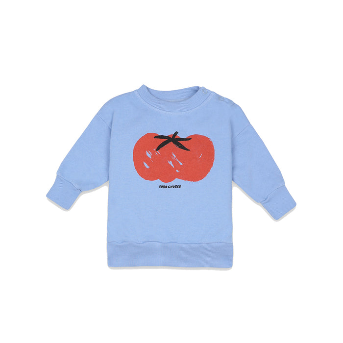 BOBO CHOSES Tomato Sweatshirt | Mini Pop Style