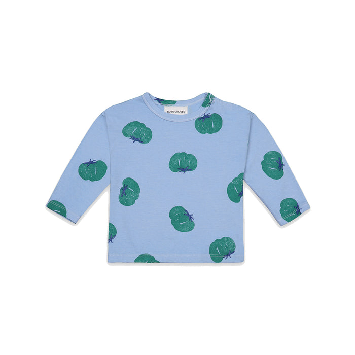 BOBO CHOSES Tomatoes All Over Long Sleeve T-Shirt | Mini Pop Style