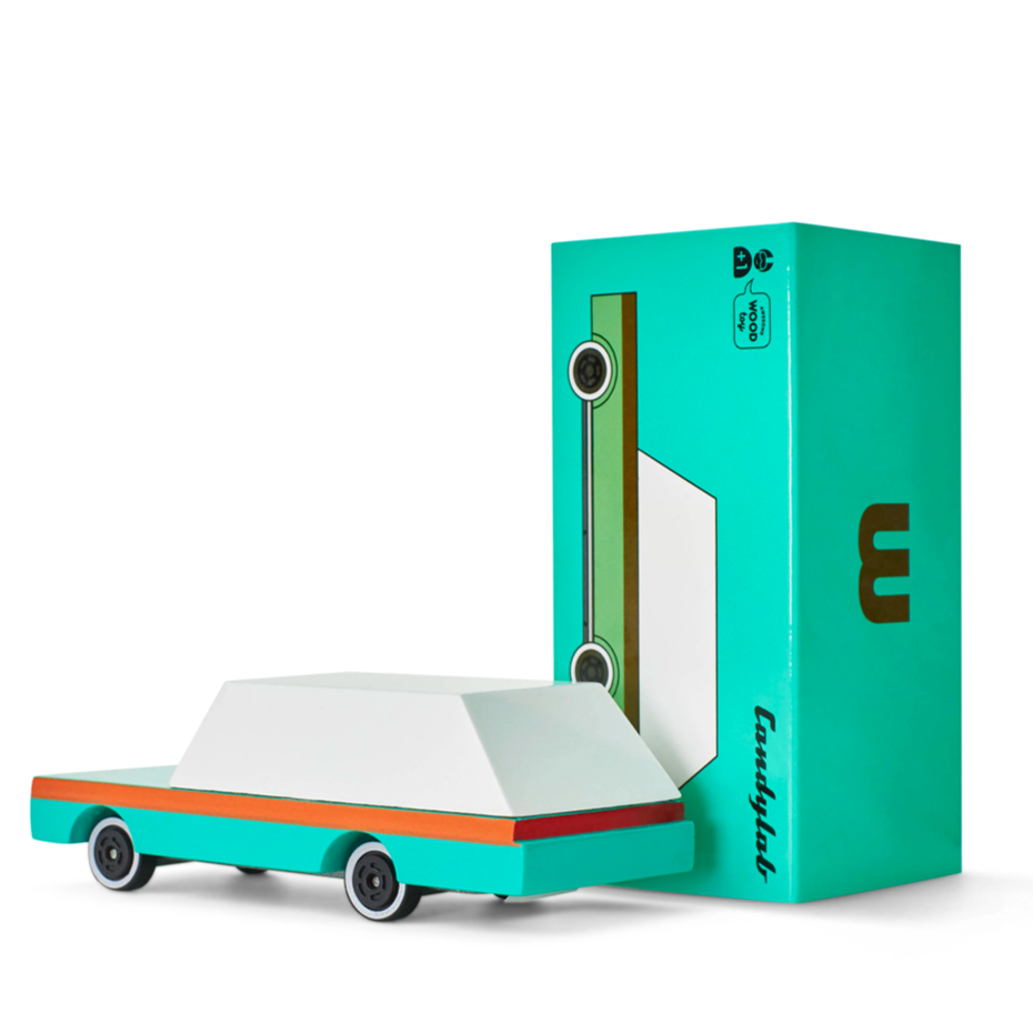 Candylab Candycar // Teal Wagon by Candylab - Mini Pop Style