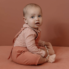 Load image into Gallery viewer, Gray Label Baby Short Salopette // Moss by Gray Label - Mini Pop Style