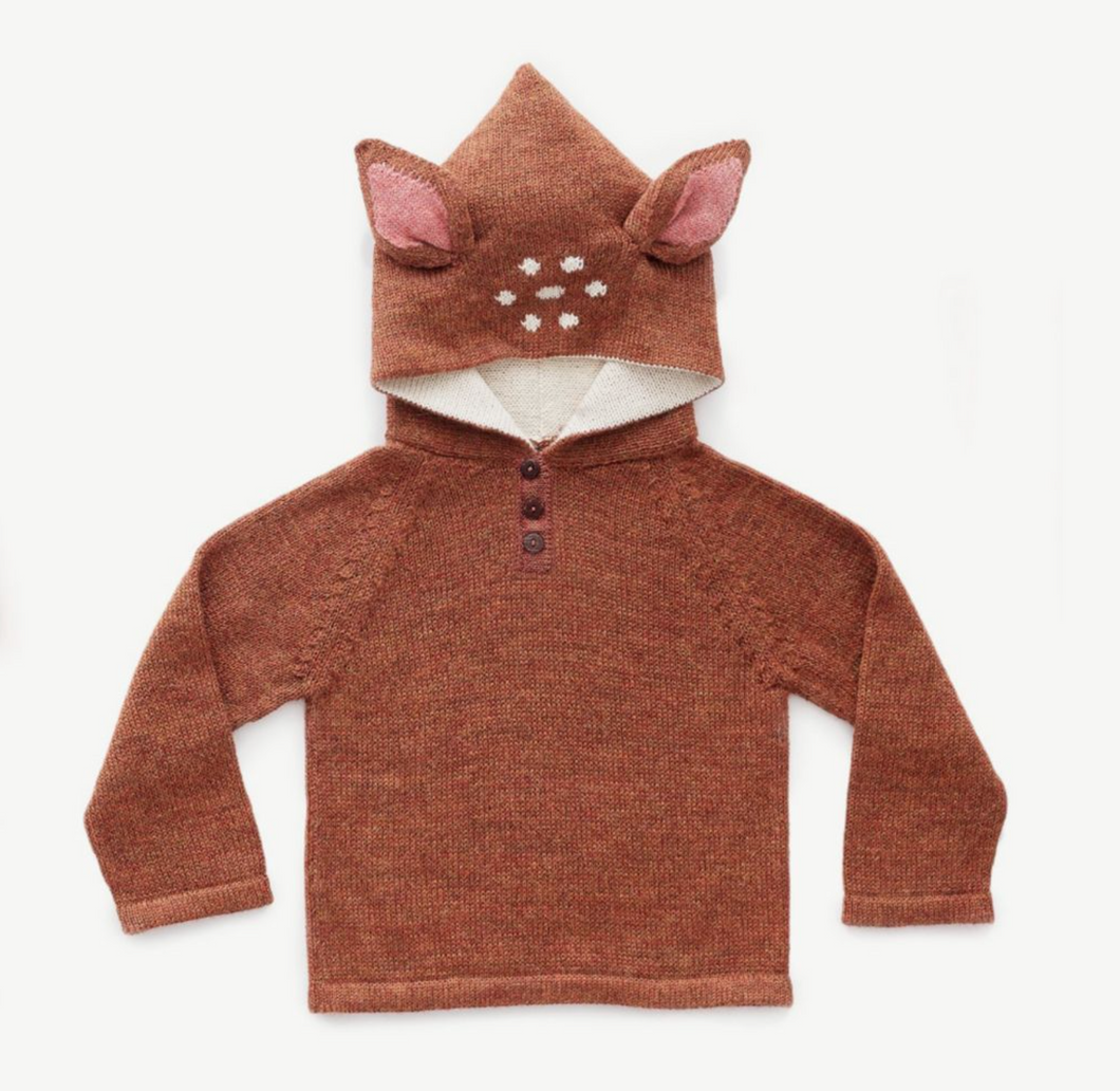 Oeuf Sweater Alpaca // Bambi by Oeuf - Mini Pop Style