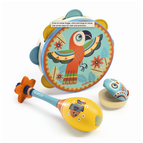 Djeco Set Of Musical Instruments by Djeco - Mini Pop Style