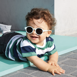 IZIPIZI PARIS Sunglasses Baby  0-12 Months // Fresh Blue by IZIPIZI - Mini Pop Style