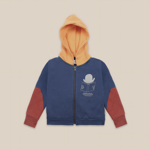 BOBO CHOSES Translator Zipped Hoodie