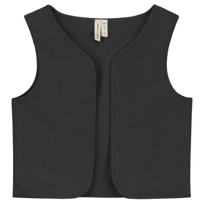 Gray Label Gilet Vest // Nearly Black
