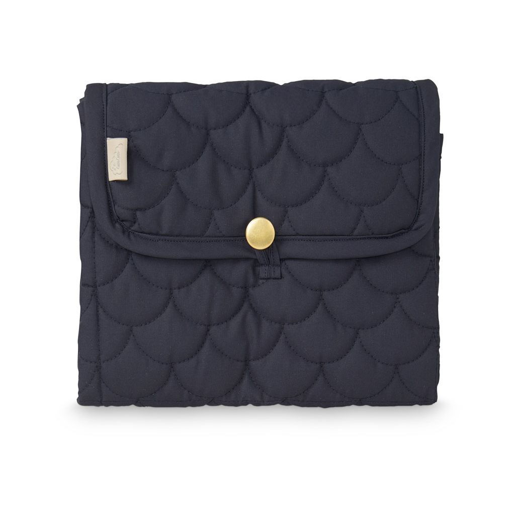 Cam Cam Changing Mat Quilted // Navy by Cam Cam - Mini Pop Style