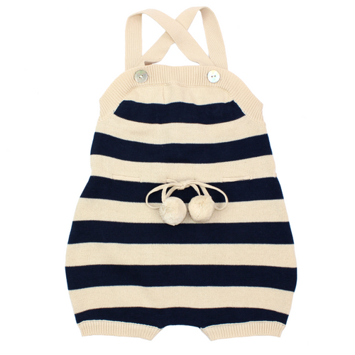 FUB Baby Overall Body // Ecru/Navy by FUB - Mini Pop Style