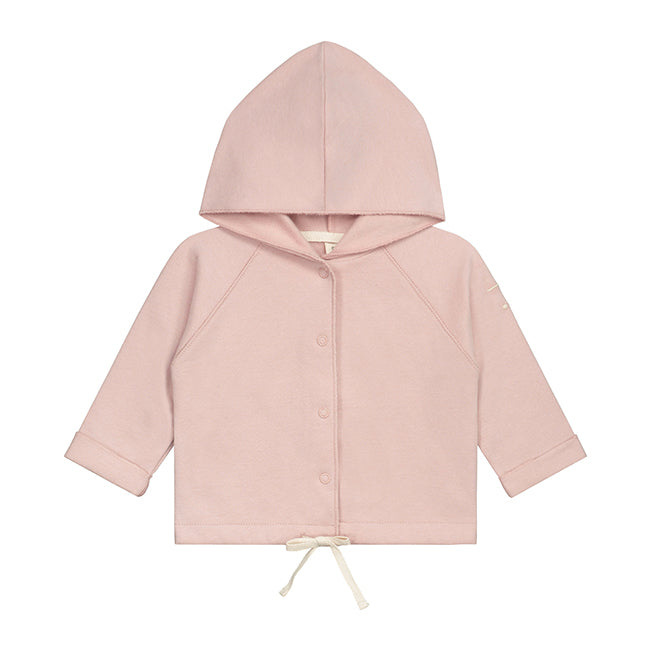 Gray Label Baby Hooded Cardigan // Vintage Pink by Gray Label - Mini Pop Style