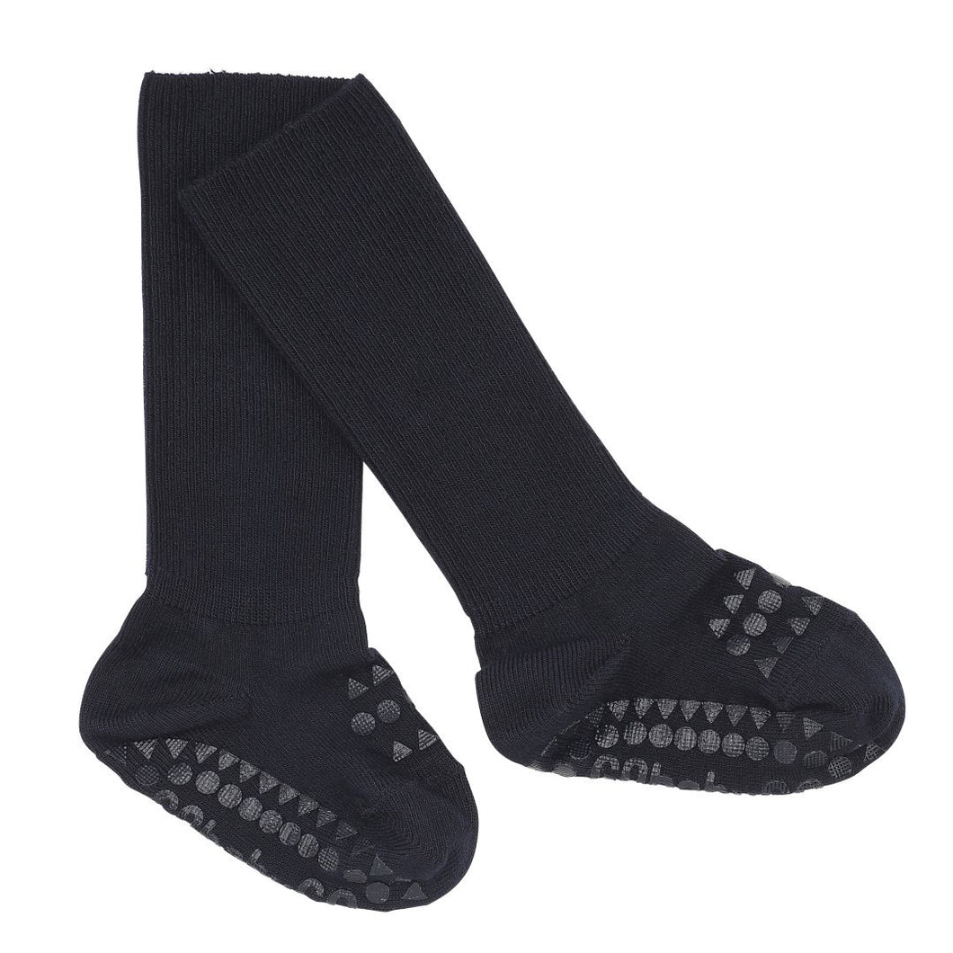 GoBabyGo Non-slip socks Bamboo // Dark Blue by GoBabyGo - Mini Pop Style