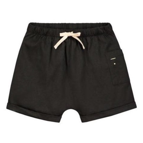 Gray Label One Pocket Shorts // Nearly Black by Gray Label - Mini Pop Style