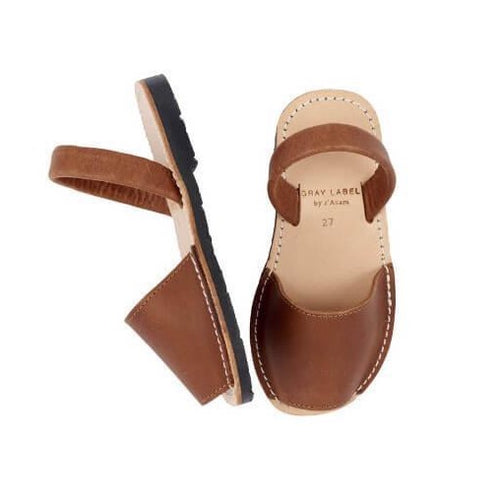 Gray Label Sandals // Brown by Gray Label - Mini Pop Style