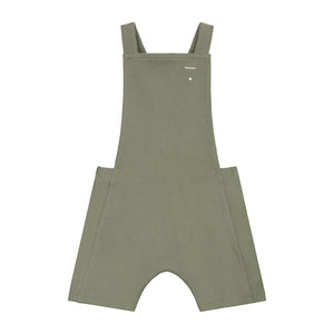 Gray Label Baby Short Salopette // Moss by Gray Label - Mini Pop Style