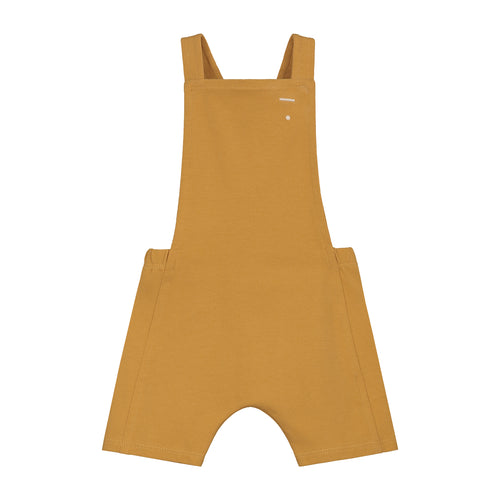 Gray Label Baby Short Salopette // Mustard by Gray Label - Mini Pop Style