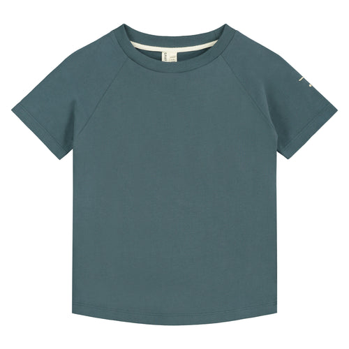 Gray Label Crewneck Tee // Blue Grey by Gray Label - Mini Pop Style