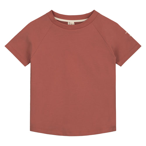 Gray Label Crewneck Tee // Faded Red by Gray Label - Mini Pop Style